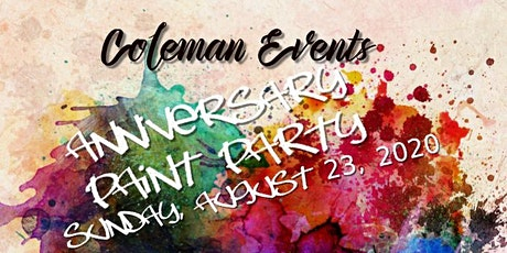 Anniversary Paint Party tickets