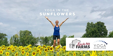 Yoga in the Sunflowers with Yoga Revolution tickets