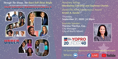 YOPRO: Top 20 Under 40 tickets