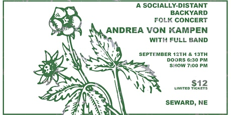Andrea von Kampen - Socially-Distant Backyard Folk Concert tickets