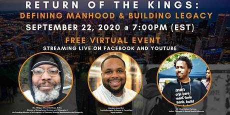 Return of the Kings: Defining Manhood & Building Legacy tickets