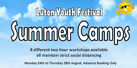Luton Youth Festival Summer Camp - Latin Dancing tickets