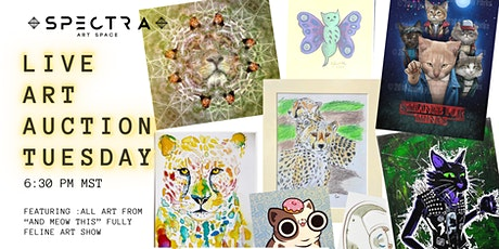 Live Art Auction | And MEOW This tickets