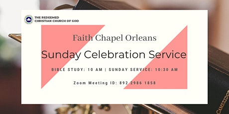 RCCG Faith Chapel Orleans Sunday Service billets