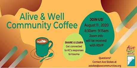 Alive and Well Community Coffee tickets