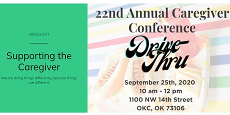 22nd Annual Caregiver Conference Drive-Thru tickets