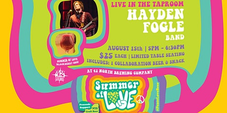 Summer Of Love: Hayden Fogle Live At 42N tickets