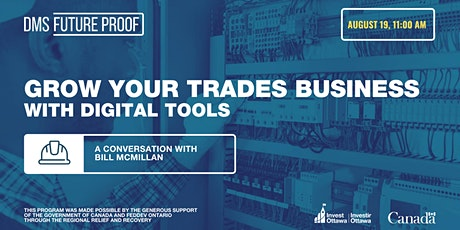 Grow your trades business with digital tools biglietti