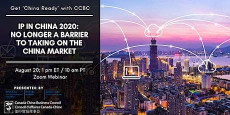 IP in China 2020 – No longer a barrier to taking on the China market tickets