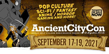 Ancient City Con 2021 tickets