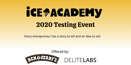 Ice Academy 2020 - Testing event tickets