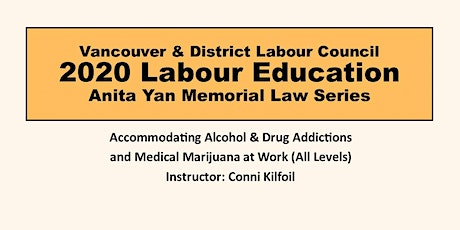 Accommodating Alcohol & Drug Addictions and Medical Marijuana at Work tickets