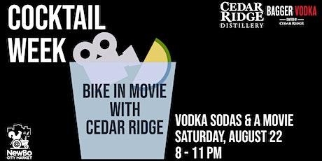 CANCELED Bike-In Movie with Cedar Ridge tickets