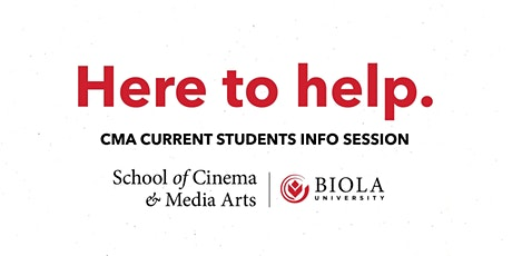 Here to Help: Info Session for CMA Current Students tickets