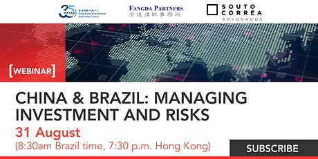 CHINA & BRAZIL: MANAGING INVESTMENT AND RISKS tickets