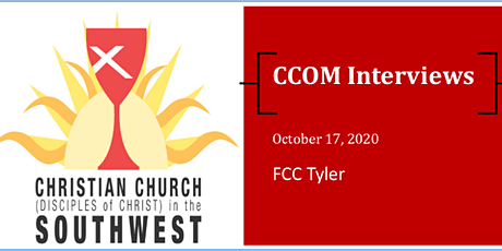 CCOM Interviews at FCC Tyler on October 17th tickets