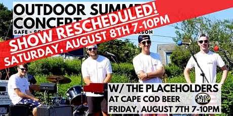 Outdoor Summer Concert Series:The Placeholders tickets