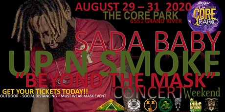 "SADA BABY Up In Smoke ""Beyond the Mask"" Concert Weekend tickets"