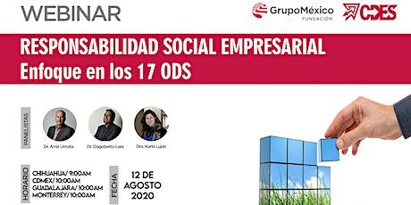 Responsabilidad Social Empresarial con enfoque en los 17 ODS entradas