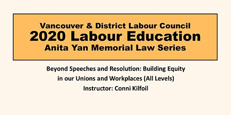 Beyond Speeches and Resolution: Building Equality in Unions and Workplaces tickets