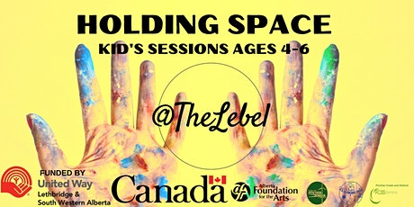 Holding Space for Kids Ages 4 to 6 November Workshop tickets