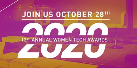 13th Annual Women Tech Awards tickets