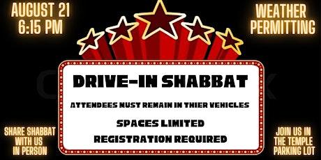 Drive-in Shabbat tickets