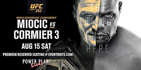 UFC 252: Miocic vs Daniel Cormier III billets