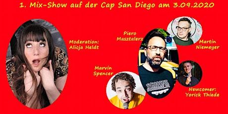 Tüddelig auf der Cap San Diego - 1. Comedy Mix Sho Tickets