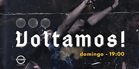 Culto Domingo 09/08 19:00 Horas ingressos