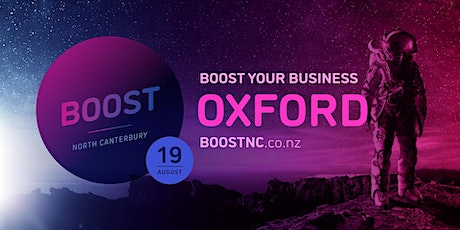 Boost Roadshow - Oxford tickets