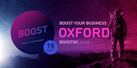 Boost Roadshow - Oxford tickets