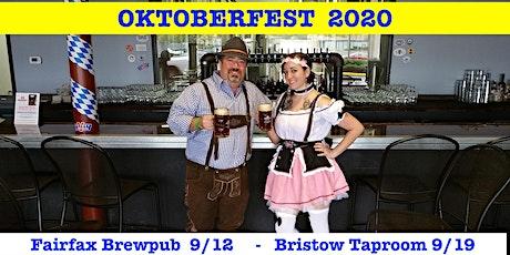 FAIRFAX:   Oktoberfest 2020 & Steal The Stein tickets