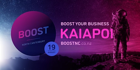 Boost Roadshow - Kaiapoi tickets