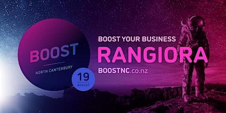 Boost Roadshow - Rangiora tickets