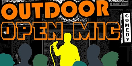 Outdoor Open Mic! COMICS IN, AUDIENCE OUT is Brooklyn's Only LIVE mic. tickets