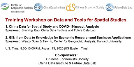 Training Workshop on Data and Tools for Spatial Studies tickets