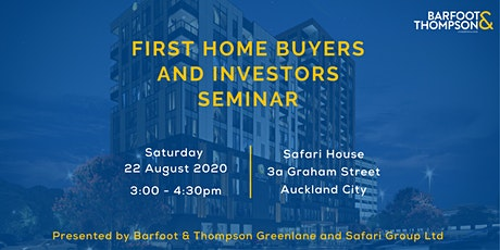 First Home Buyers and Investors Seminar tickets