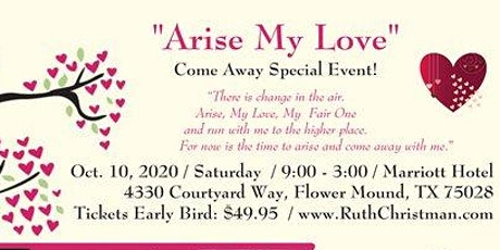 ARISE MY LOVE - COME AWAY EVENT tickets