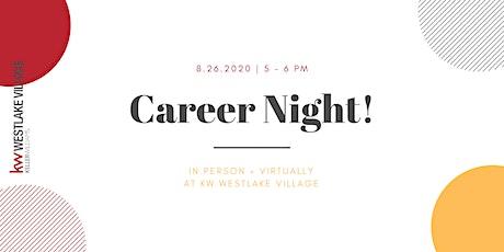 KW Westlake Village Career Night tickets