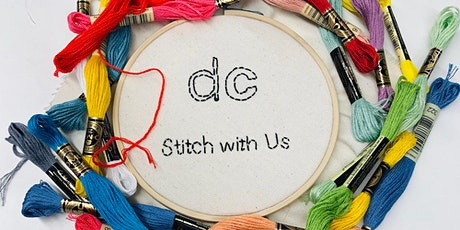 Stitch with Us: Embroidery Workshop tickets