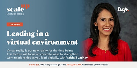"""Leading in a Virtual Environment"" with Vaishali Jadhav tickets"