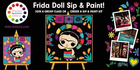 Museica's BYOB  Sip & Paint - FRIDA DOLL tickets