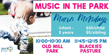Music in the Park with JAMaROO Kids - Tiburon tickets