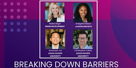 Breaking Down Barriers: Diversity and Your Organization tickets