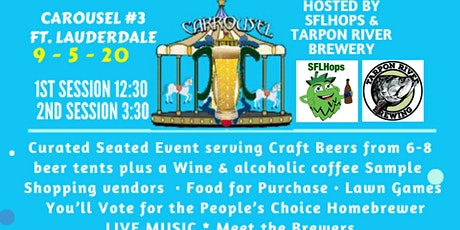 Curated Craft Carousel Beer Festival #3 - FTL tickets