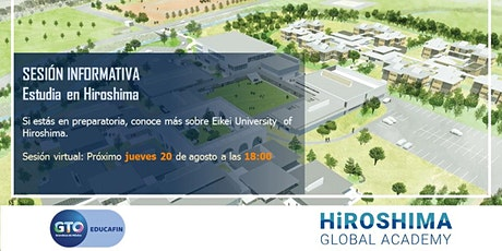 Info Session estudia en Hiroshima - Eikei University & Global Academy entradas