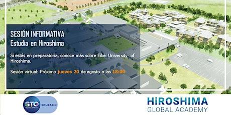 Info Session estudia en Hiroshima - Eikei University & Global Academy tickets