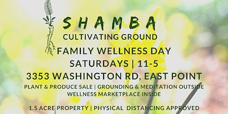 Saturday Family Wellness Day | SHOP | EAT | CHILL tickets