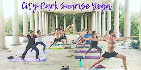 City Park Sunrise Yoga tickets